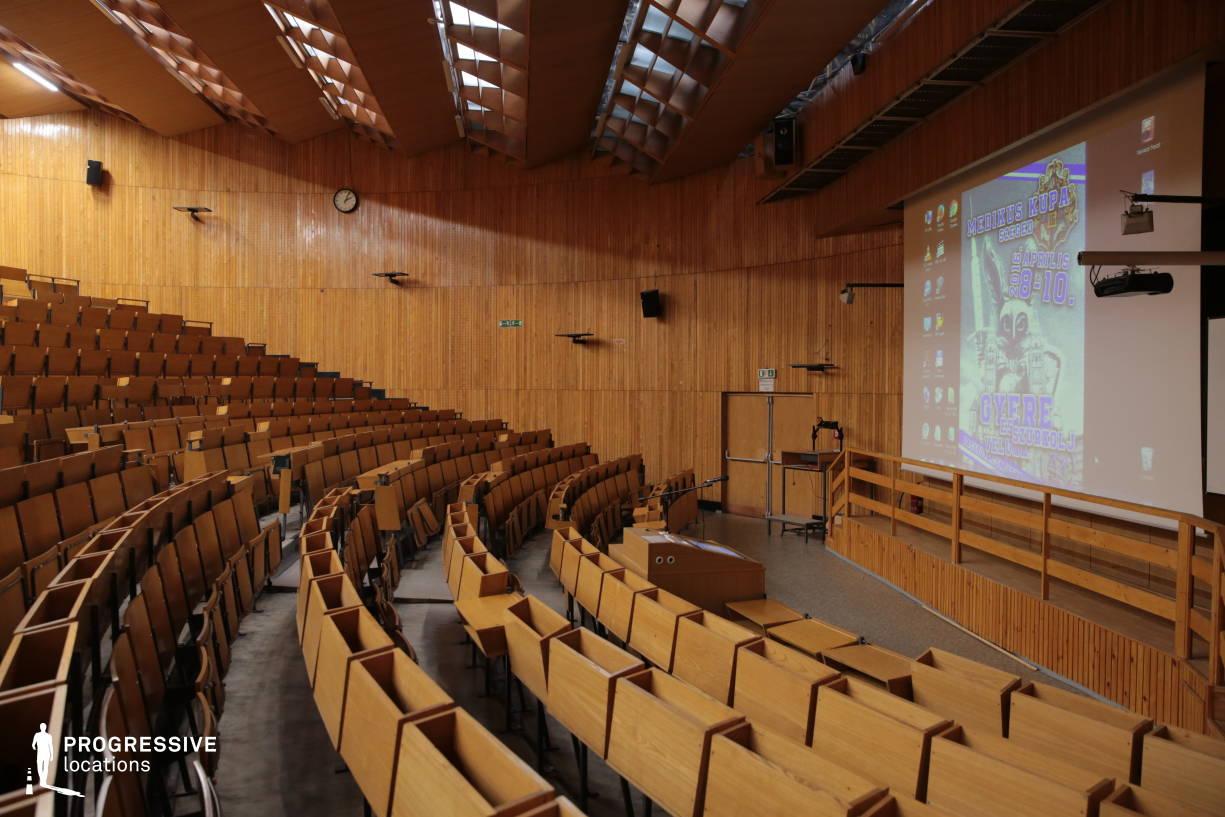 Locations in Hungary: Auditorium, SOTE University
