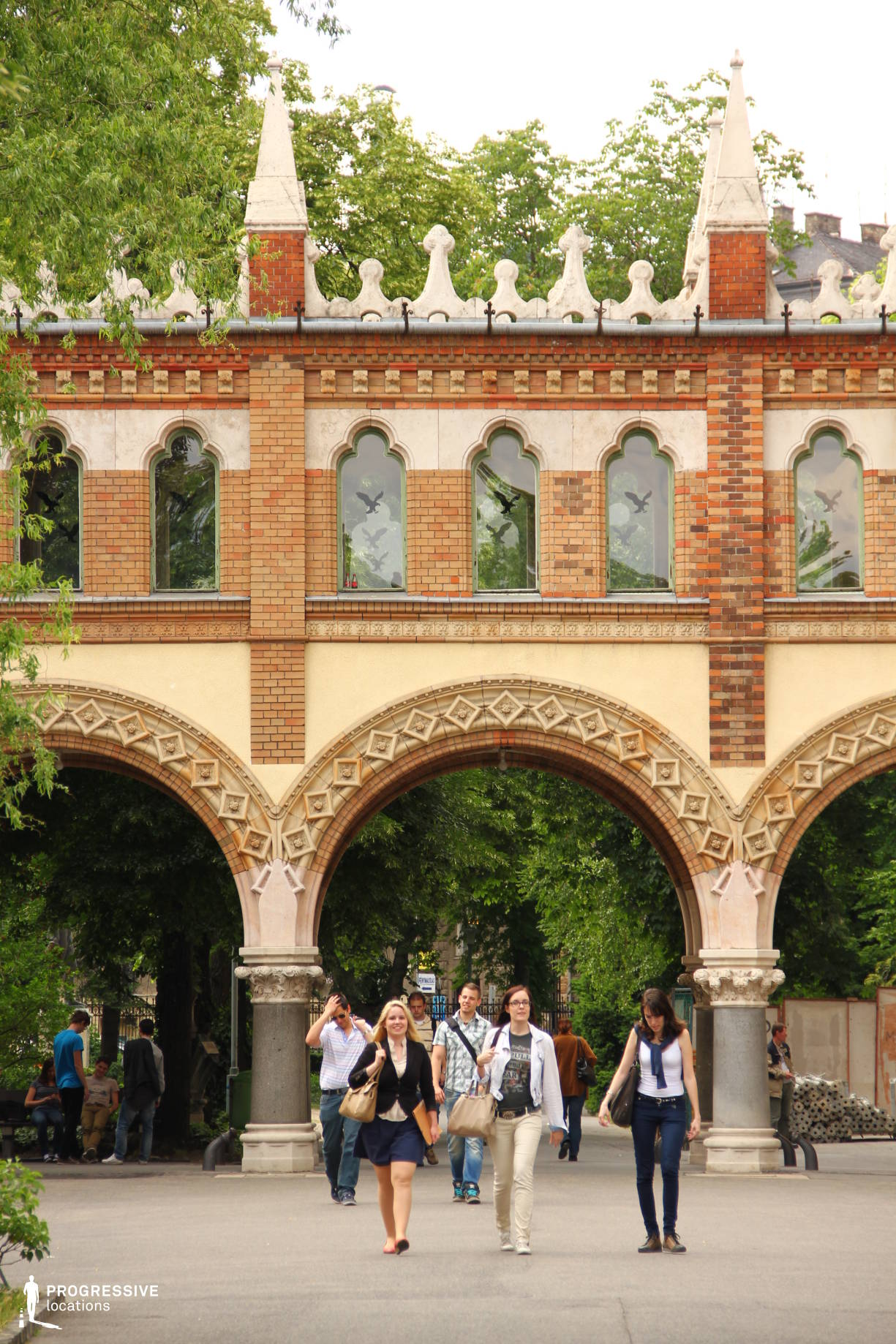 Locations in Hungary: Campus, Arcade, University Of Technology