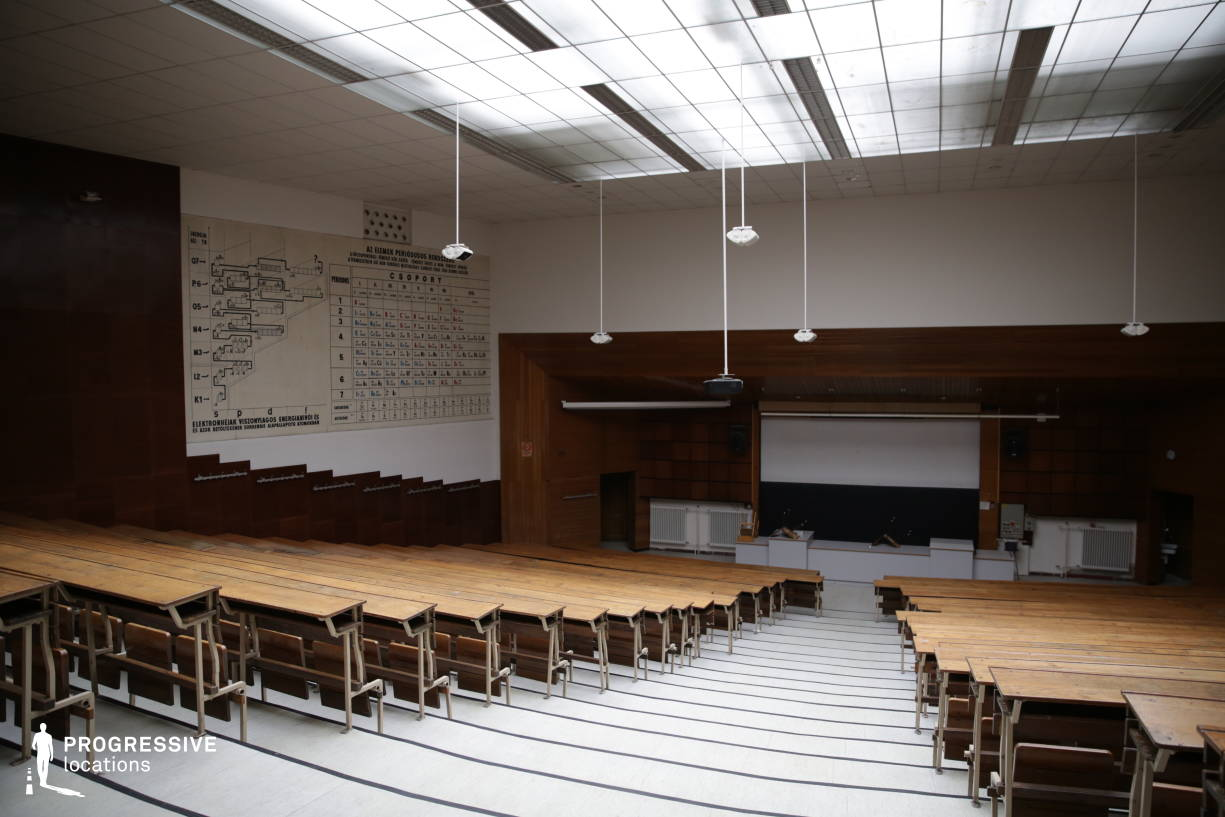 Locations in Hungary: Chemistry Lecture Hall, University Of Technology