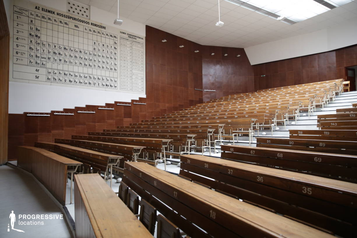 Locations in Hungary: Chemistry Lecture Hall