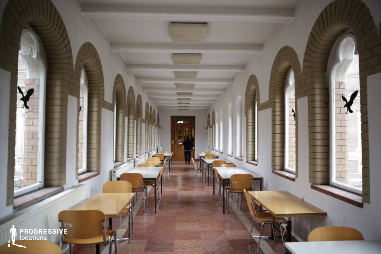 Locations in Hungary: Corridor, Unoversity Of Technology