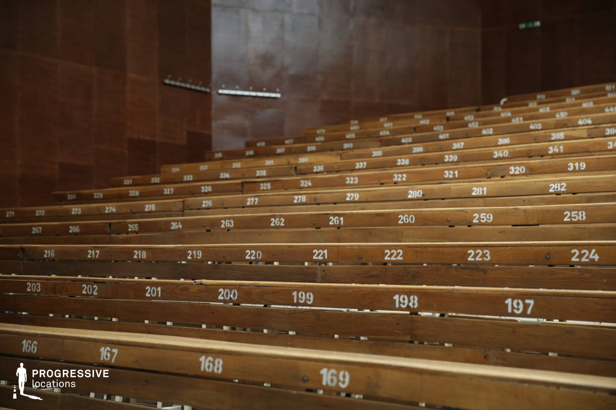 Locations in Hungary: Lecture Hall %26 Seats (Detail)