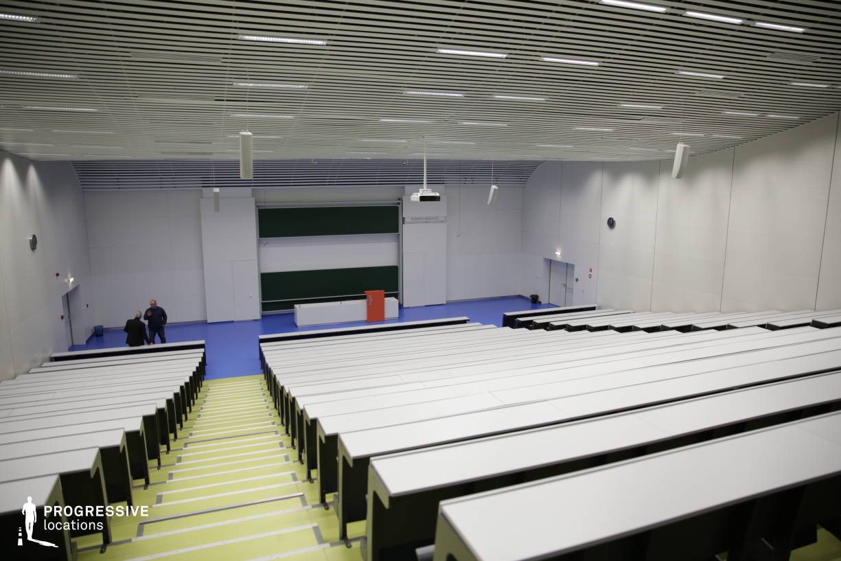 Locations in Hungary: Modern Auditorium, University Of Technology