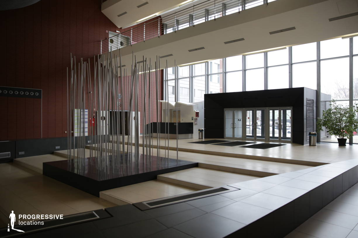 Locations in Hungary: Modern Entrance Hall