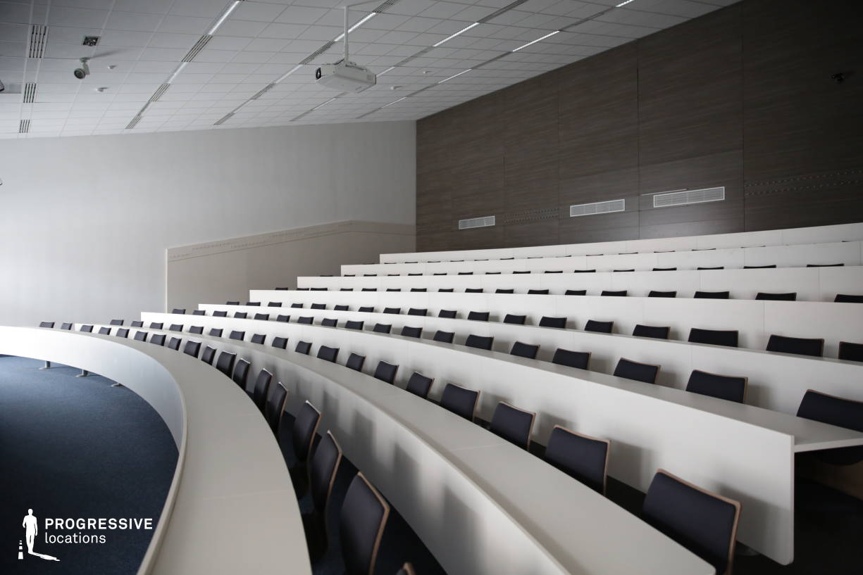 Locations in Hungary: Modern Small Lecture Hall, University of Economics