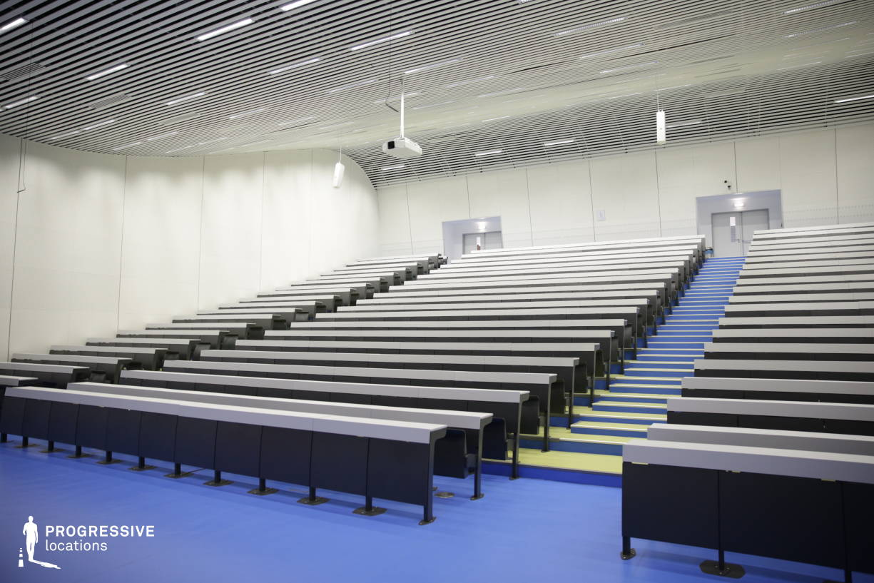 Locations in Hungary: Modern Lecture Hall, University Of Technology