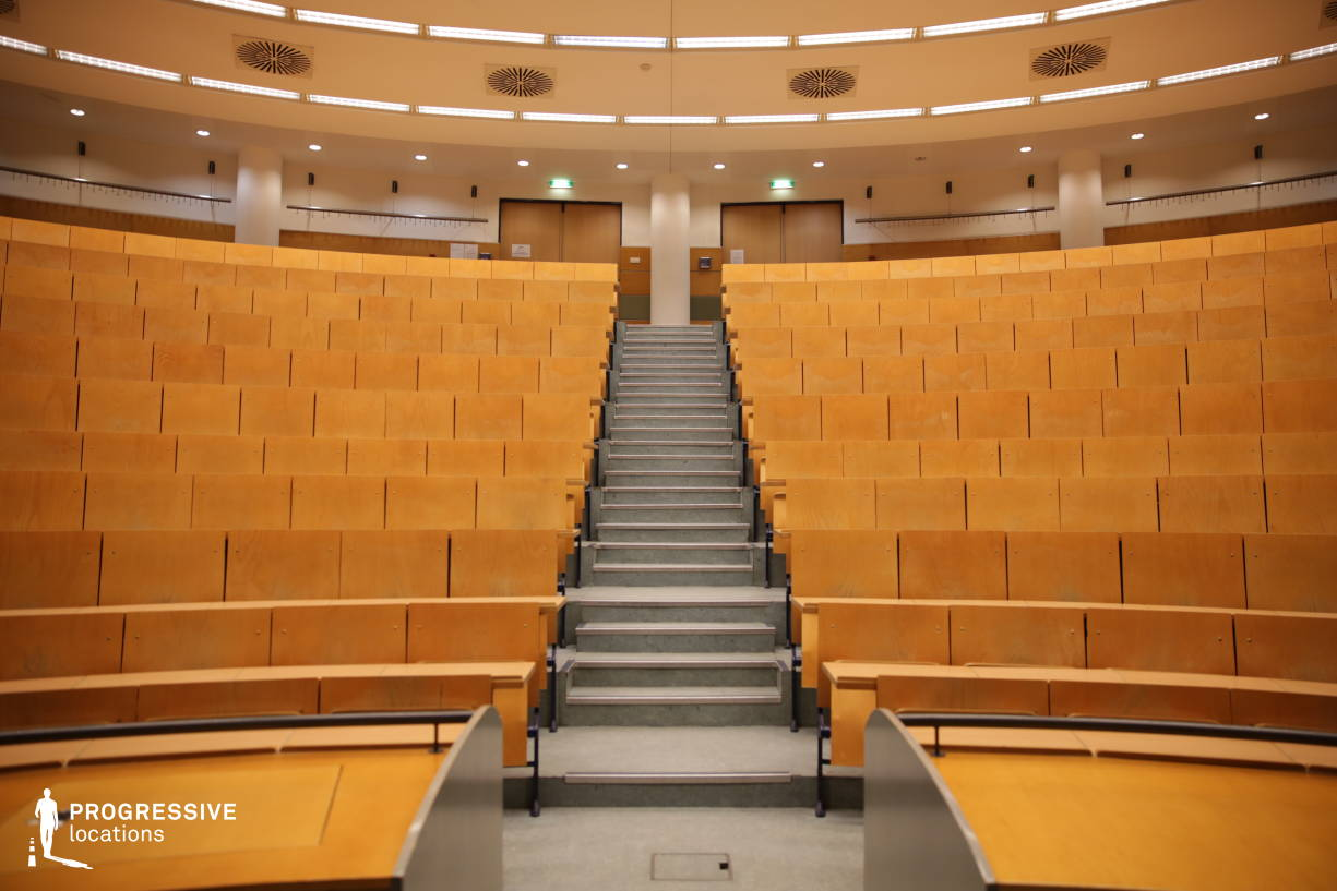 Locations in Hungary: Round Lecture Hall, Elte (Opposite Direction)