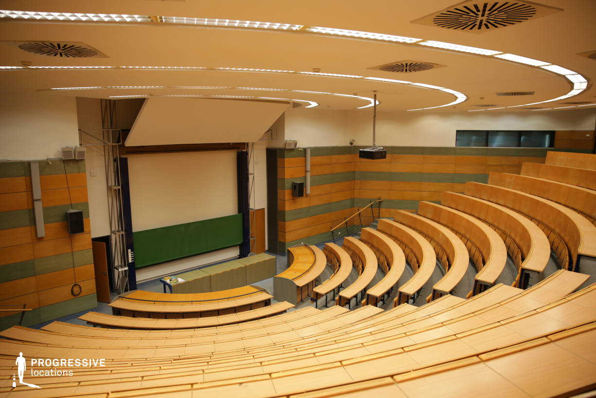 Locations in Hungary: Round Lecture Hall, Elte