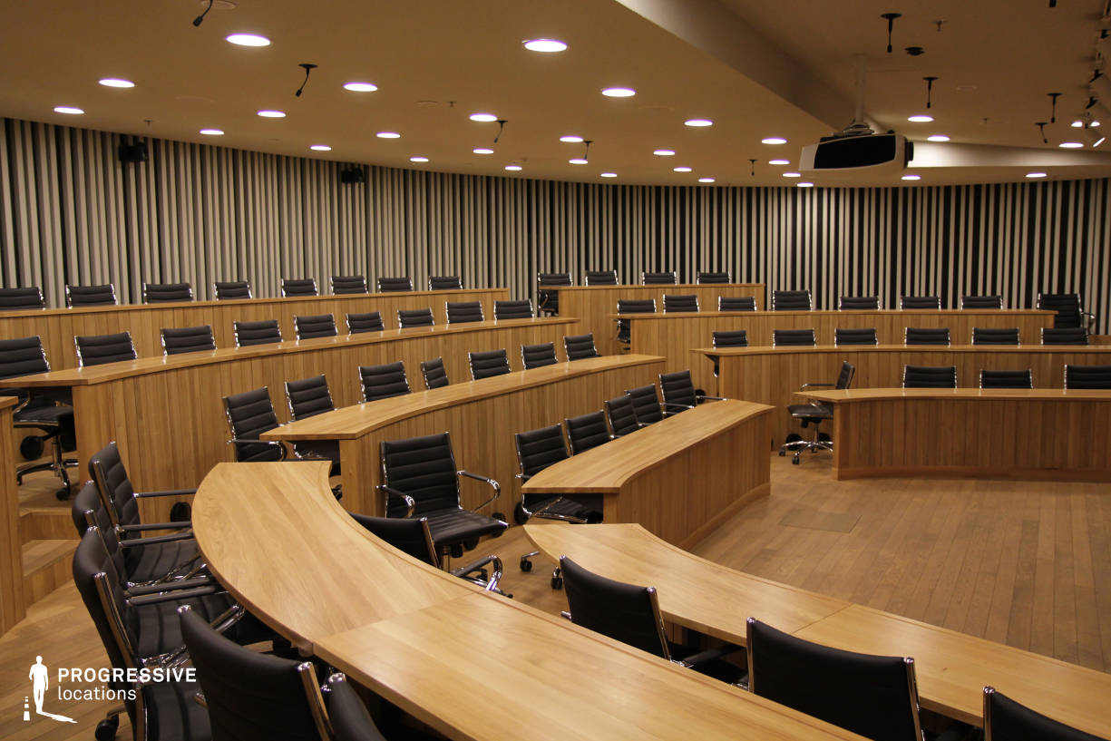 Locations in Hungary: Small Auditorium, CEU
