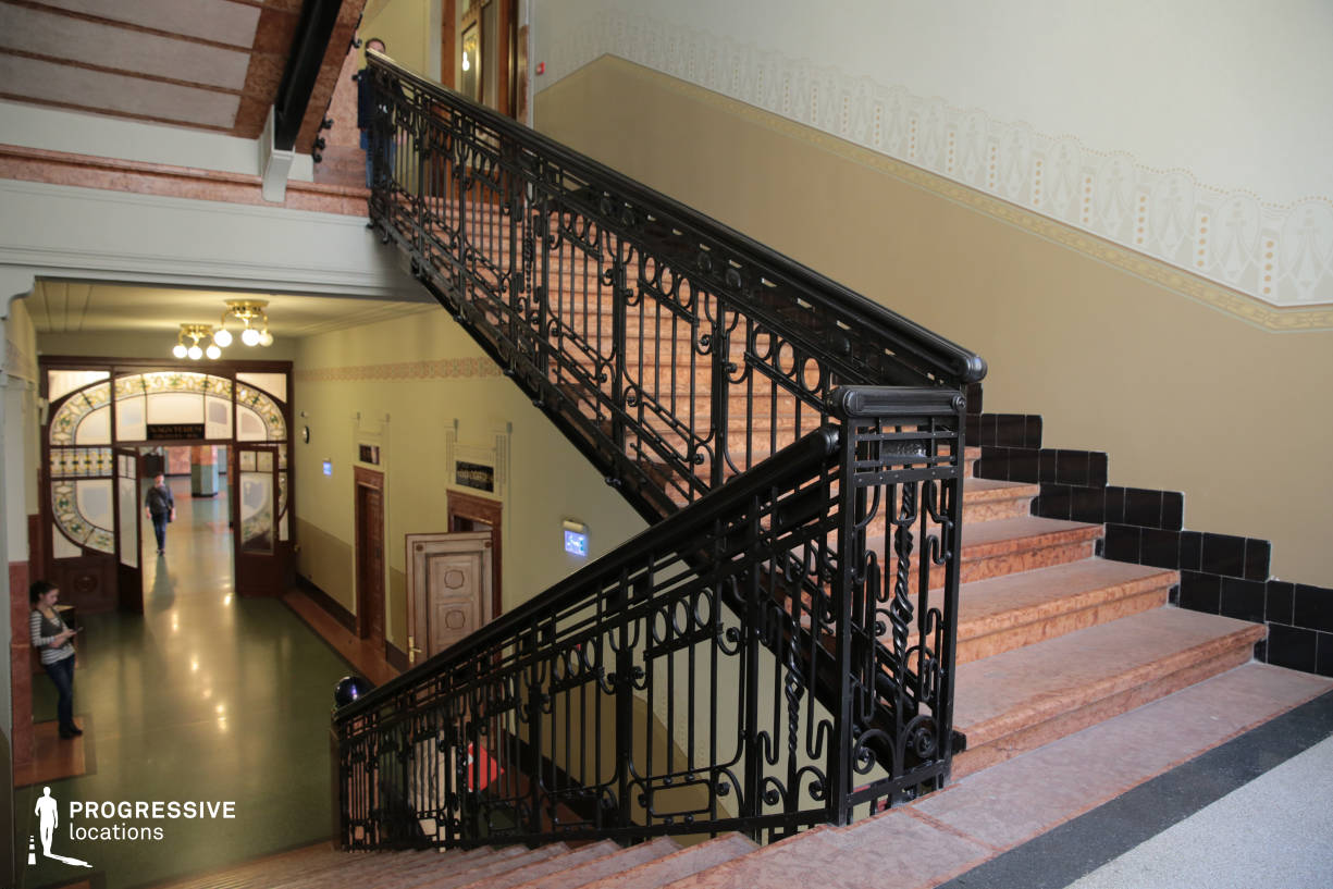 Locations in Hungary: Staircase, Liszt Academy