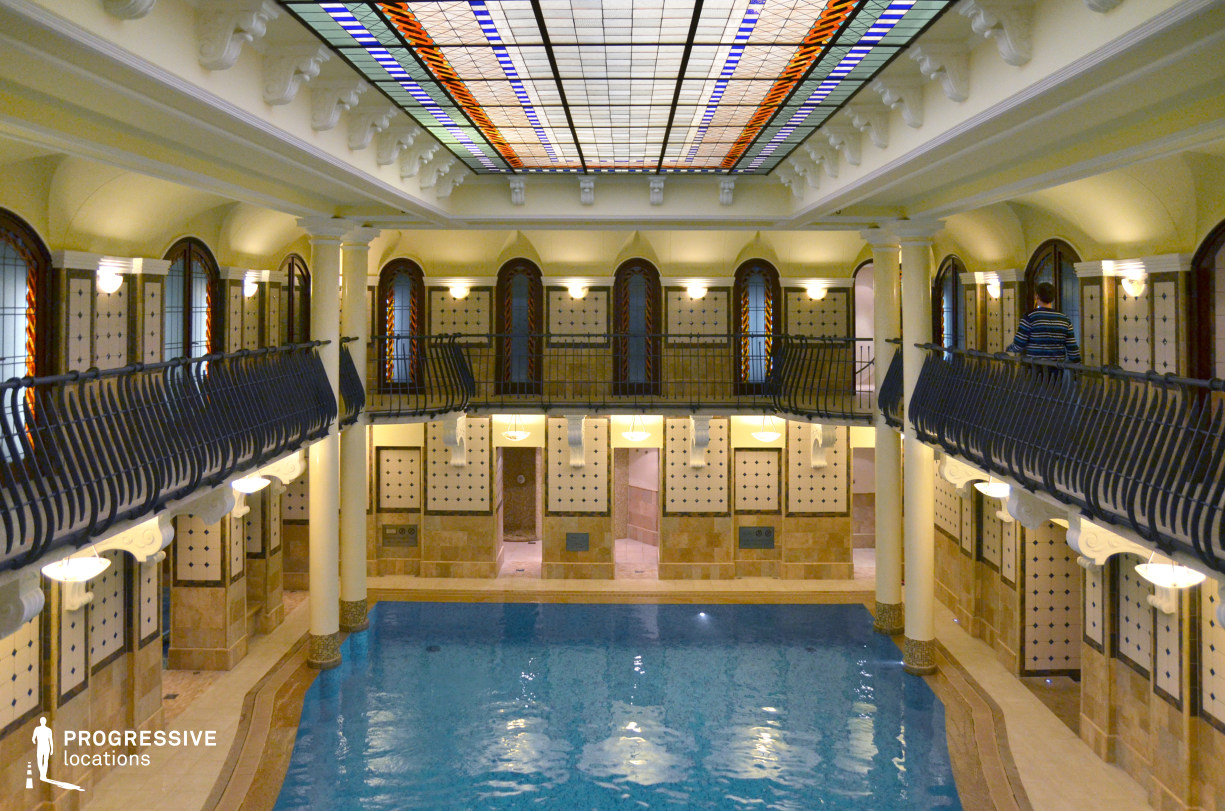Locations in Hungary: Glass Ceiling, Corinthia Hotel Spa