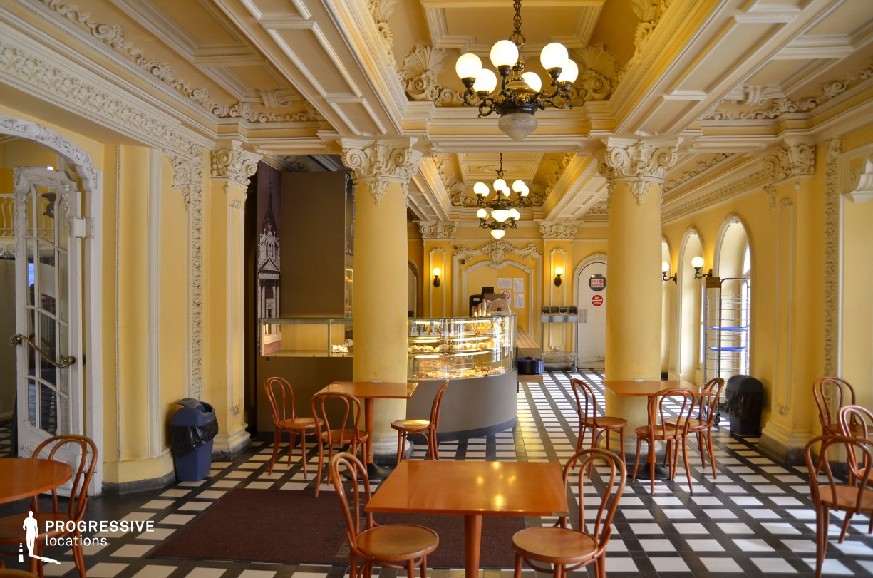 Locations in Hungary: Restaurant, Szechenyi Bath