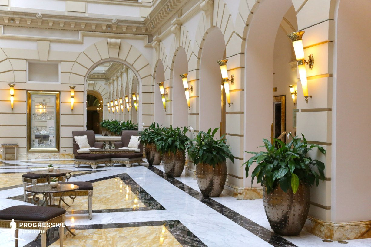 Locations in Hungary: Lobby %26 Lounge, Boscolo