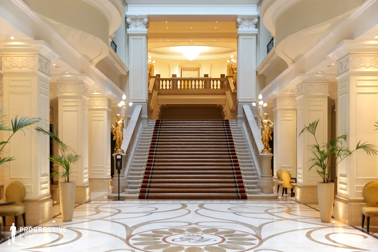 Locations in Hungary: Lobby %26 Staircase, Corinthia