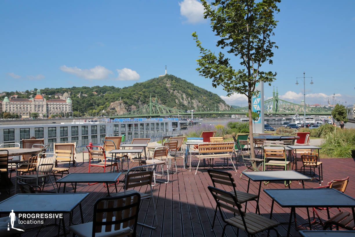Locations in Hungary: Terrace, Balna Cafe