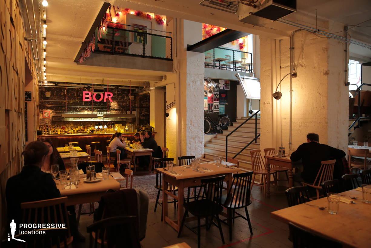 Locations in Hungary: Trendy Restaurant, Bordo