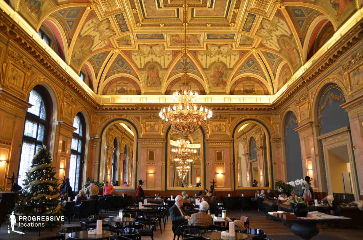 Locations in Hungary: Renaissance Hall, Lotz Cafe