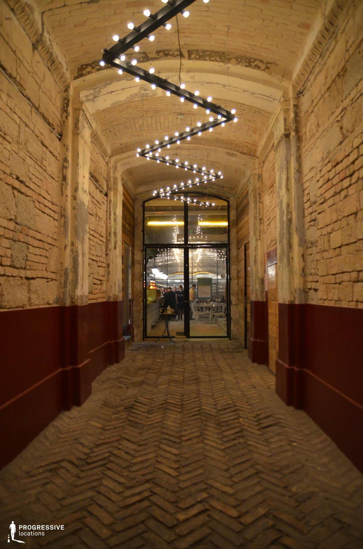 Entrance, Mazel Tov Ruin Pub