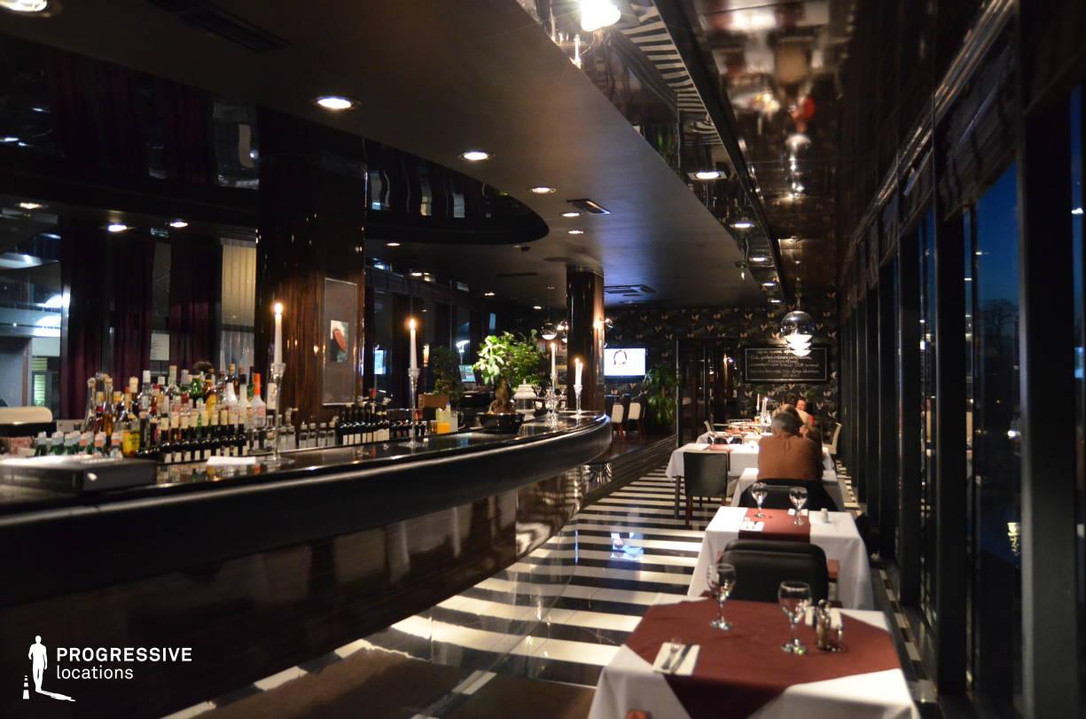 Locations in Hungary: Melba, Trendy Restaurant