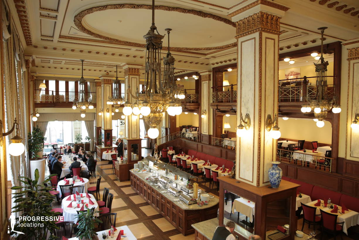 Locations in Hungary: Art Nouveau Restaurant, Novotel