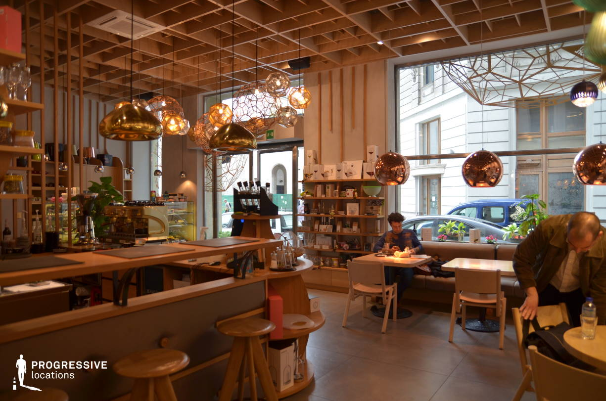 Locations in Hungary: Solinfo Modern Cafe