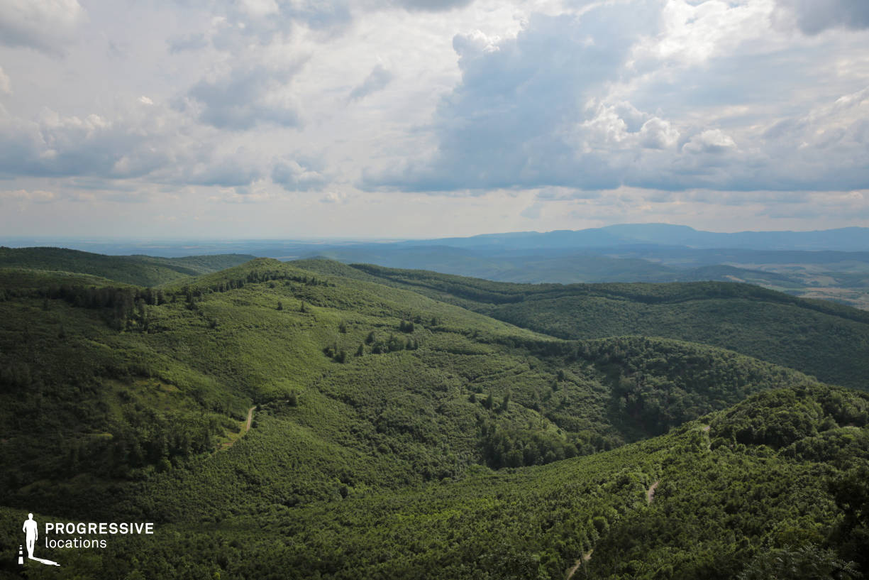 Locations in Hungary: Belapat, Mountain %26 Forest Panorama