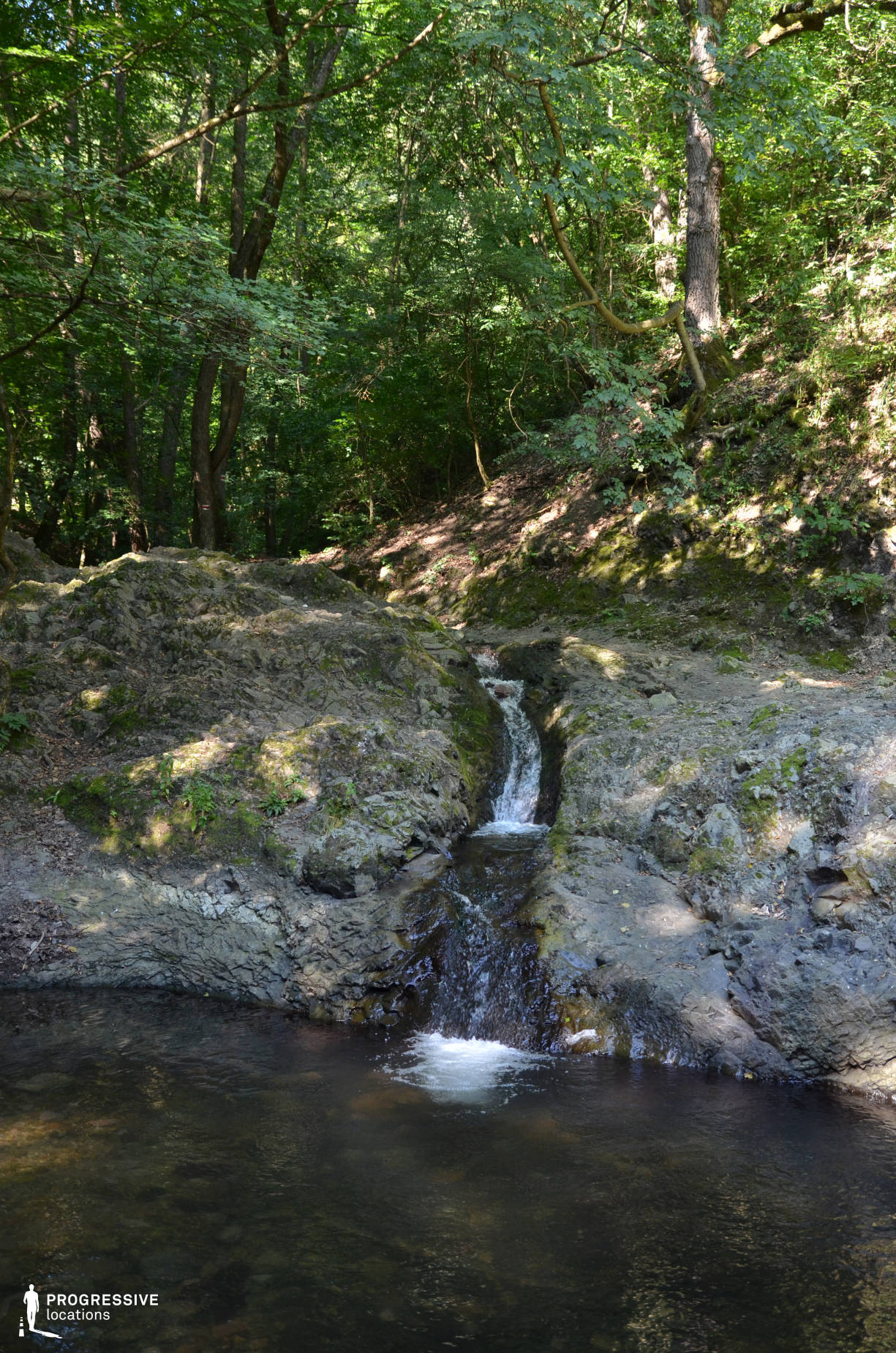 Locations in Hungary: Brook, Visegrad Forest
