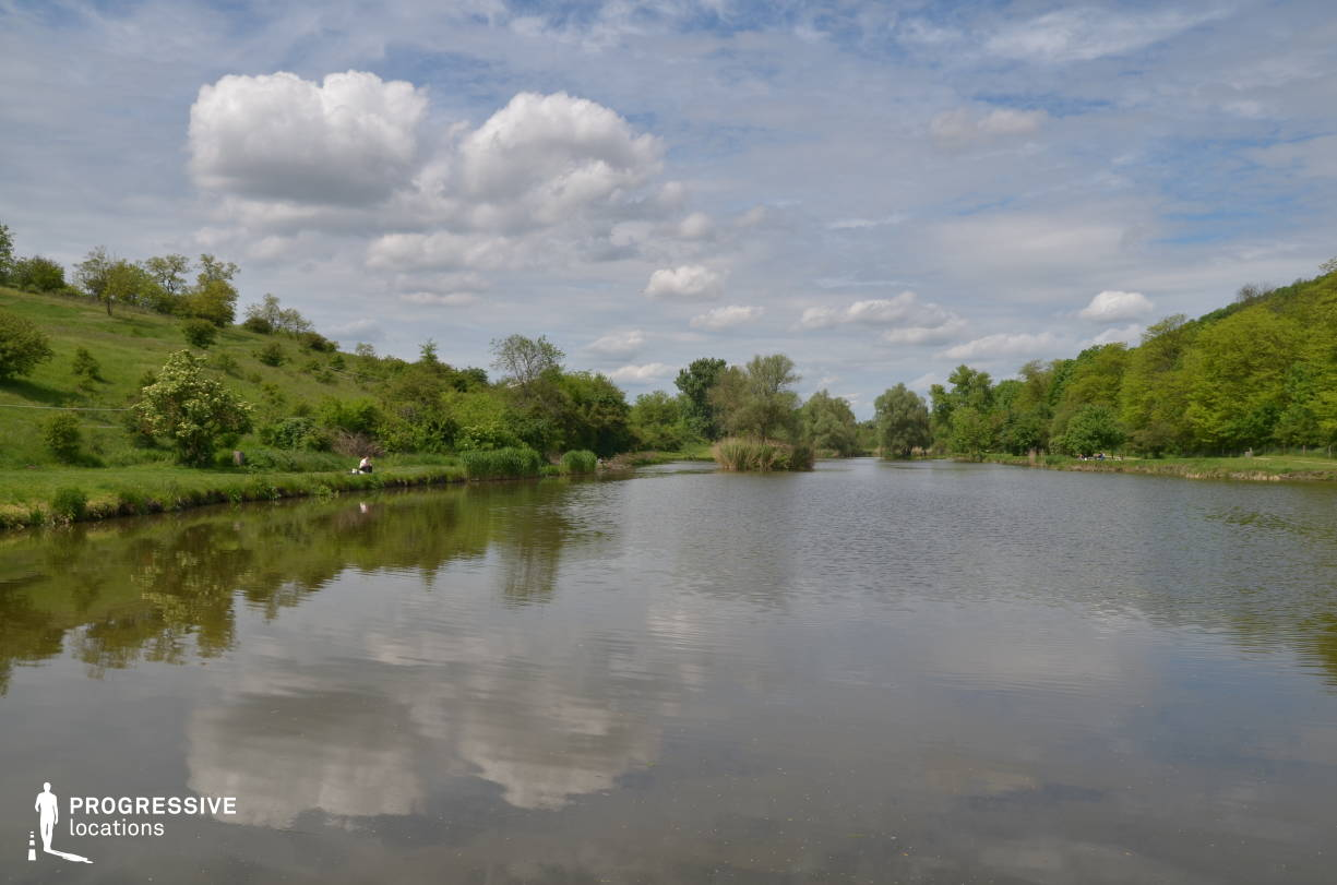 Locations in Hungary: Fishing Lake, Etyek