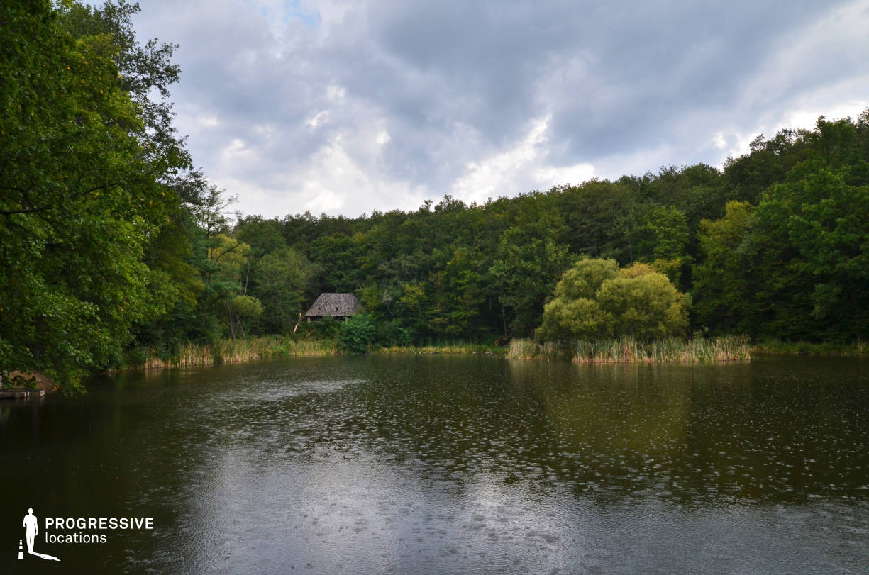 Locations in Hungary: Forest %26 Lake %26 Wooden Hut, Kiralyret