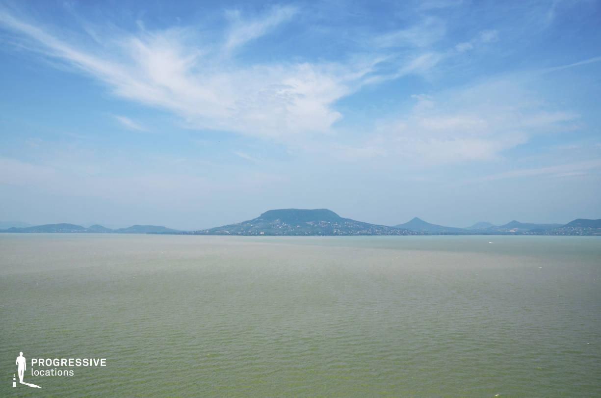 Locations in Hungary: Lake Balaton, Panorama