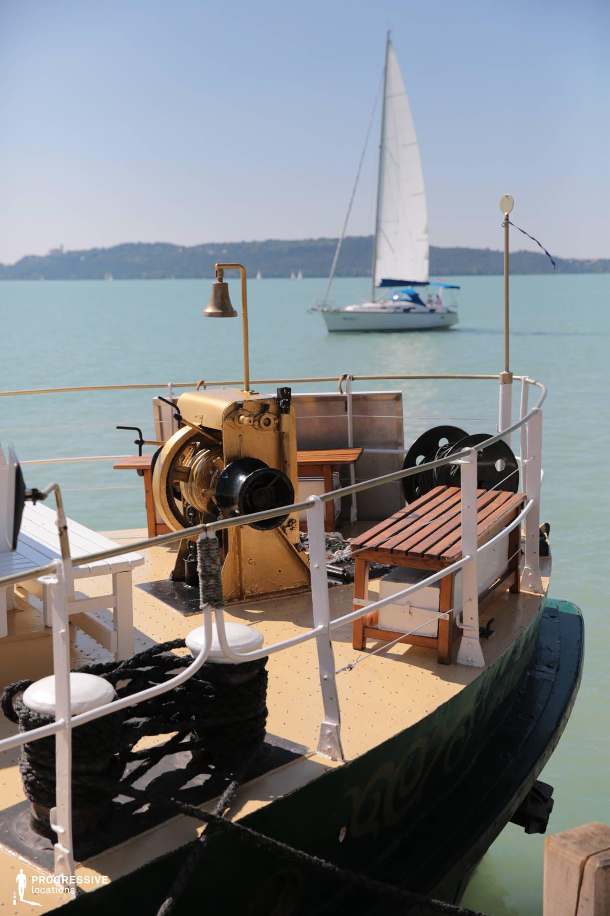 Locations in Hungary: Old Ship, Balaton