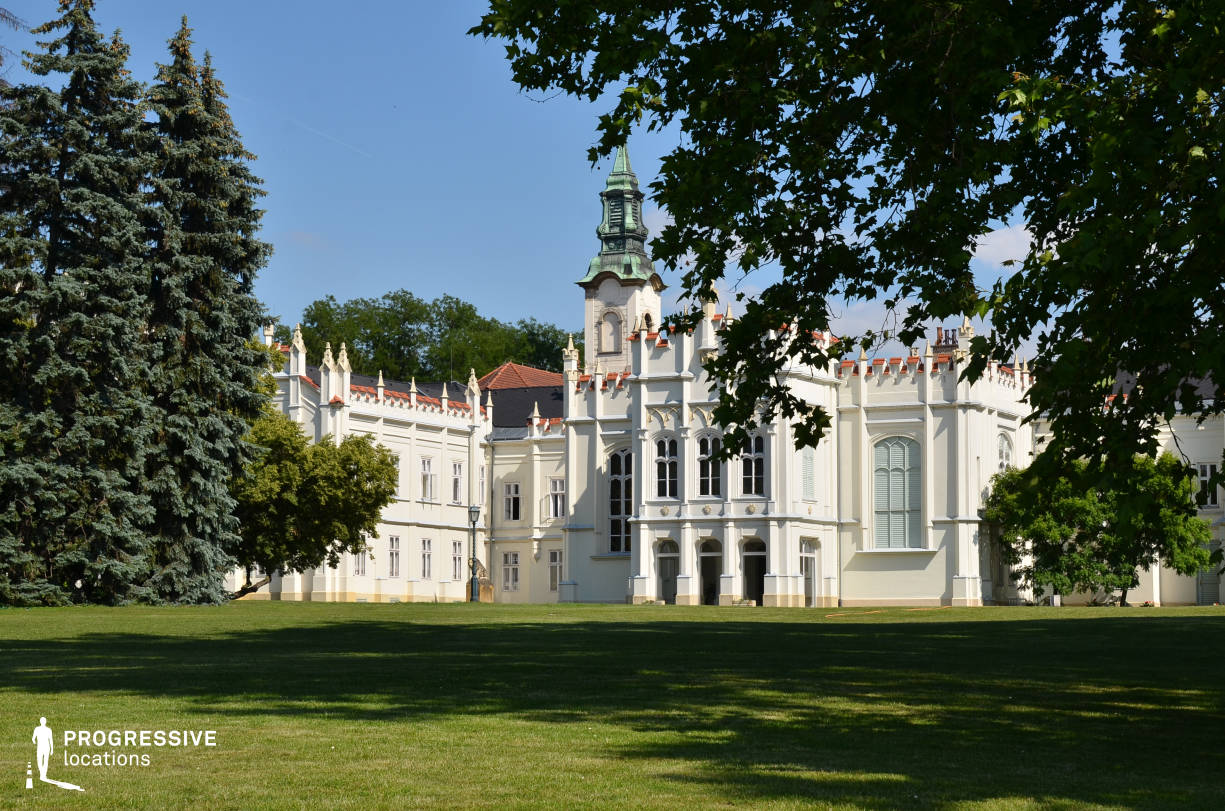 Locations in Hungary: Brunszvik Palace Facade
