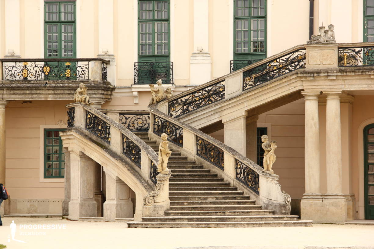 Locations in Hungary: Esterhazy Palace, Exterior %26 Stairs