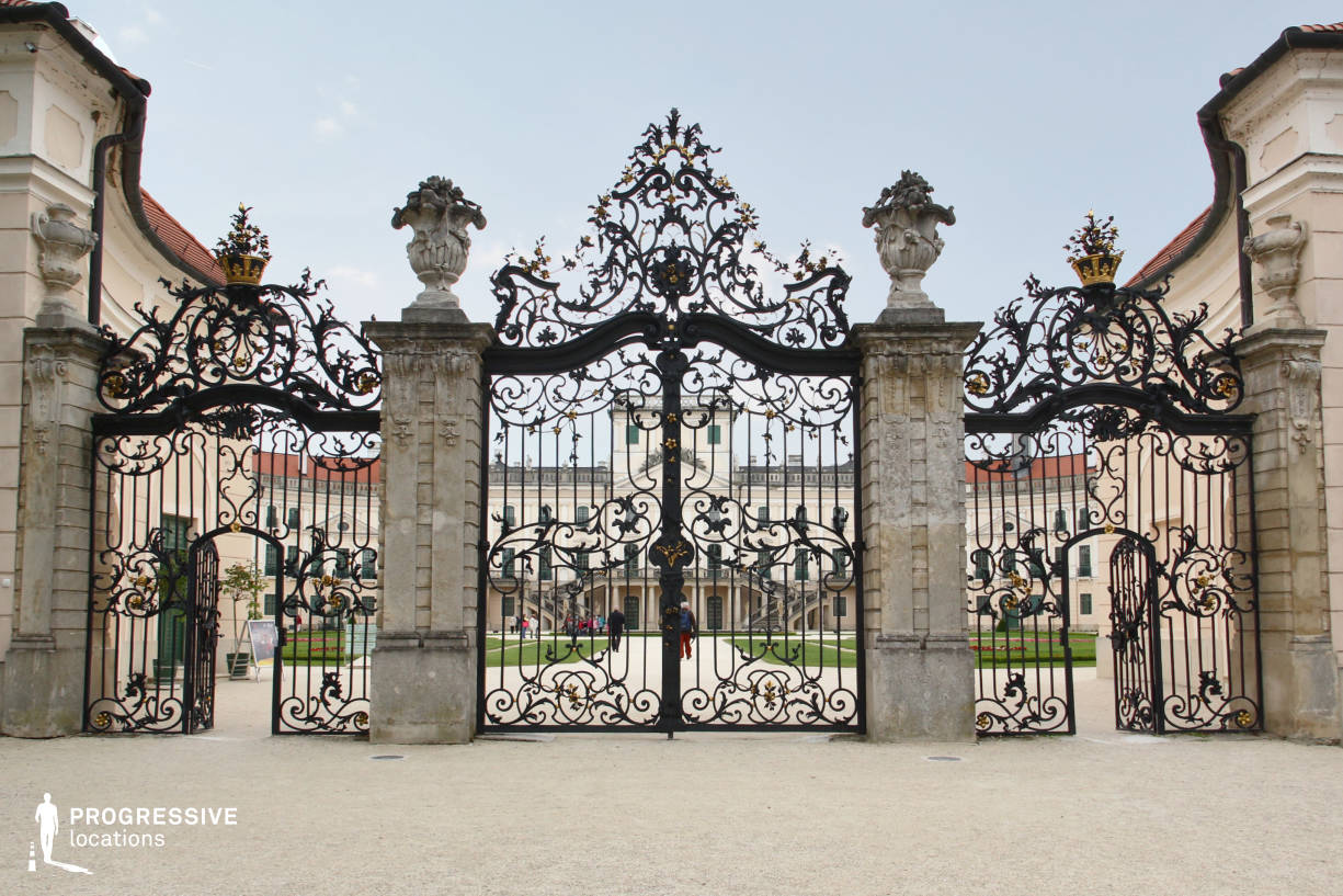 Locations in Hungary: Estrehazy Palae, Ornate Gate