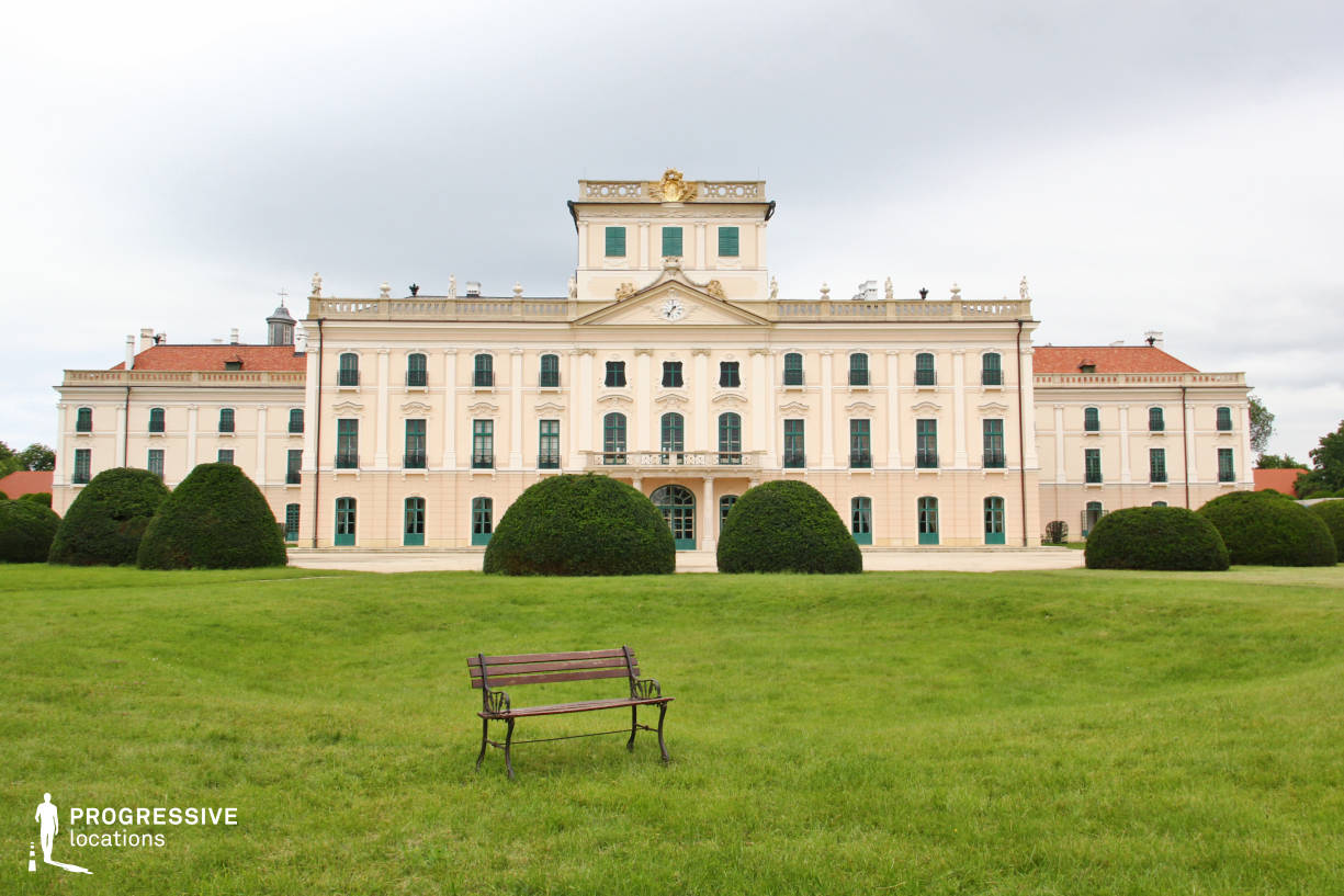 Locations in Hungary: Esterhazy Palace, Rear Garden