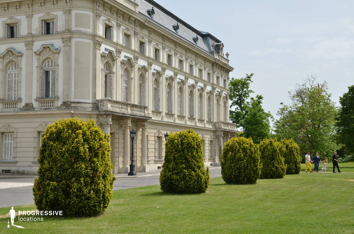 Locations in Hungary: Festetics Palace, Facade