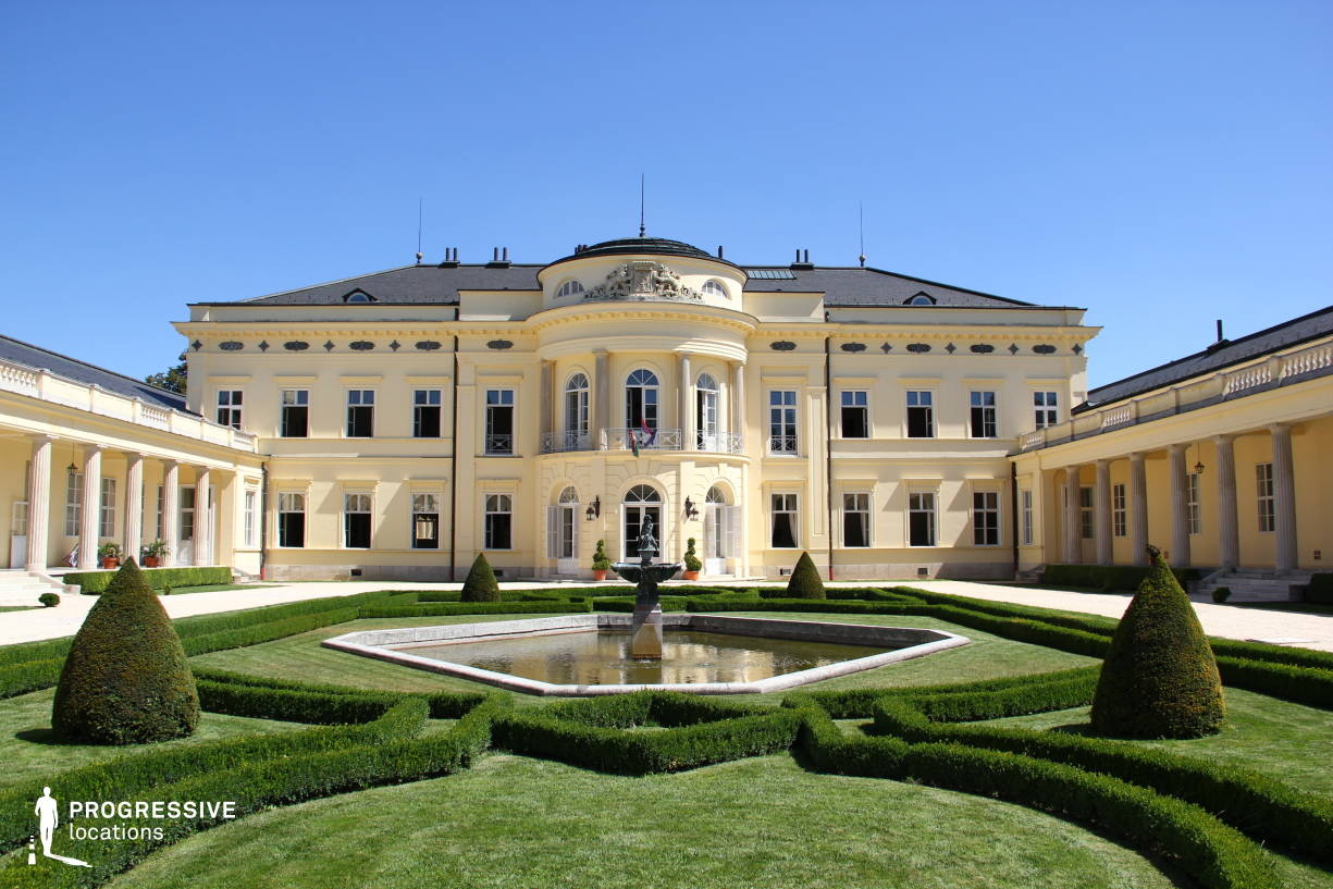 Locations in Hungary: Karolyi Mansion, Court %26 French Garden