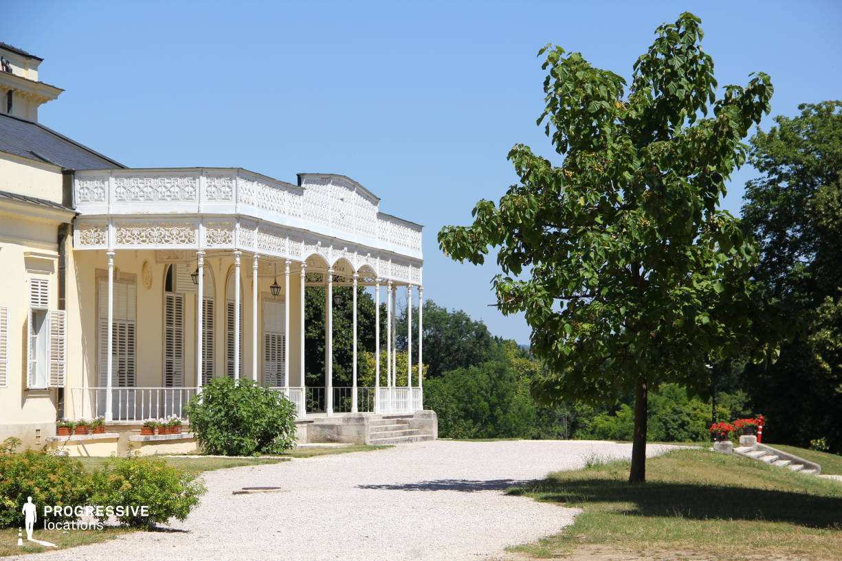 Locations in Hungary: Karolyi Mansion, Wooden Loggia