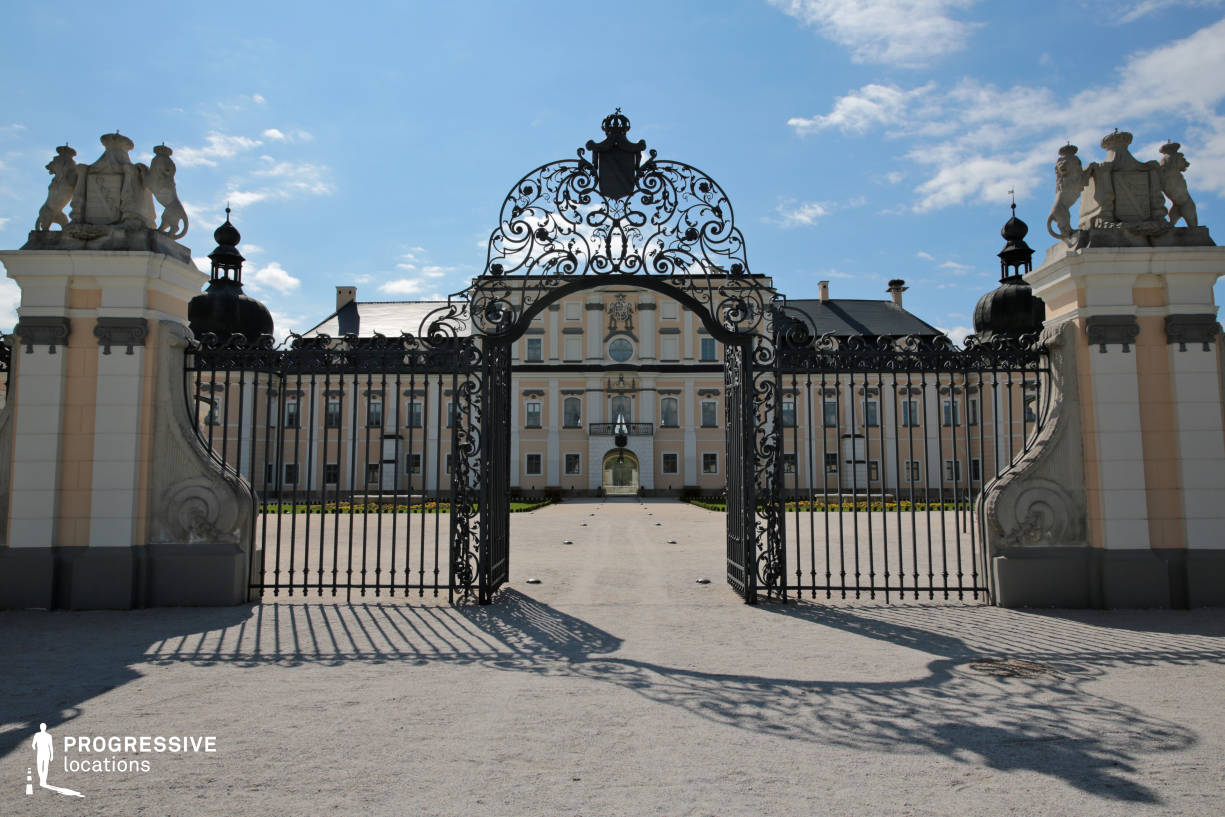 Locations in Hungary: Wrought Iron Gate, Edeleny Palace