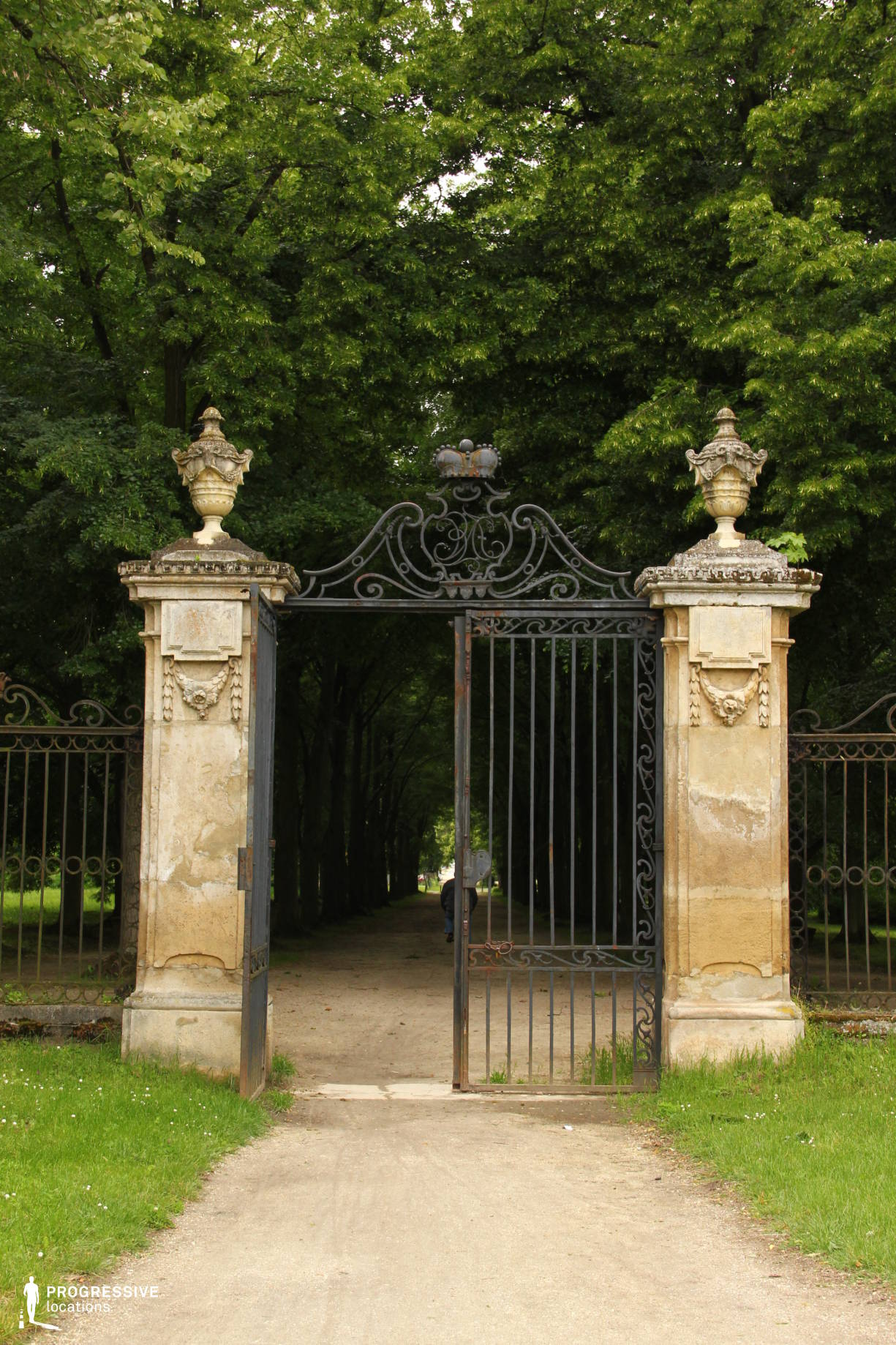 Locations in Hungary: Esterhazy Palace, Wrought Iron Gate