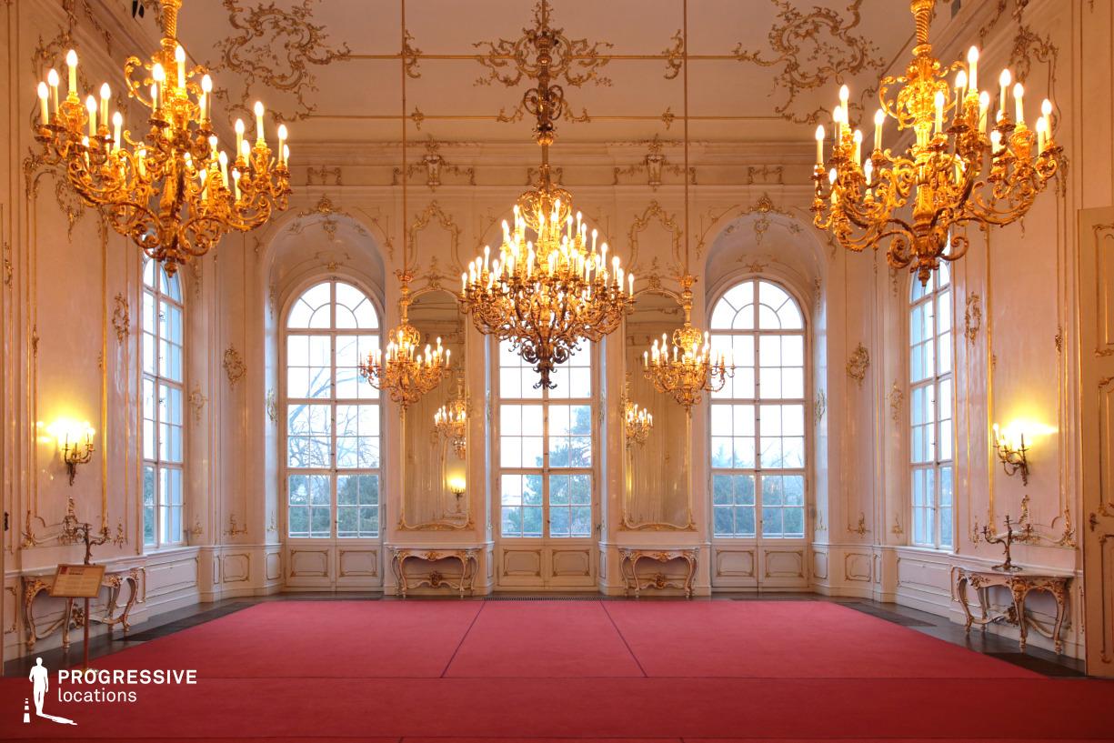 Locations in Hungary: Assembly Hall, Royal Palace, Godollo