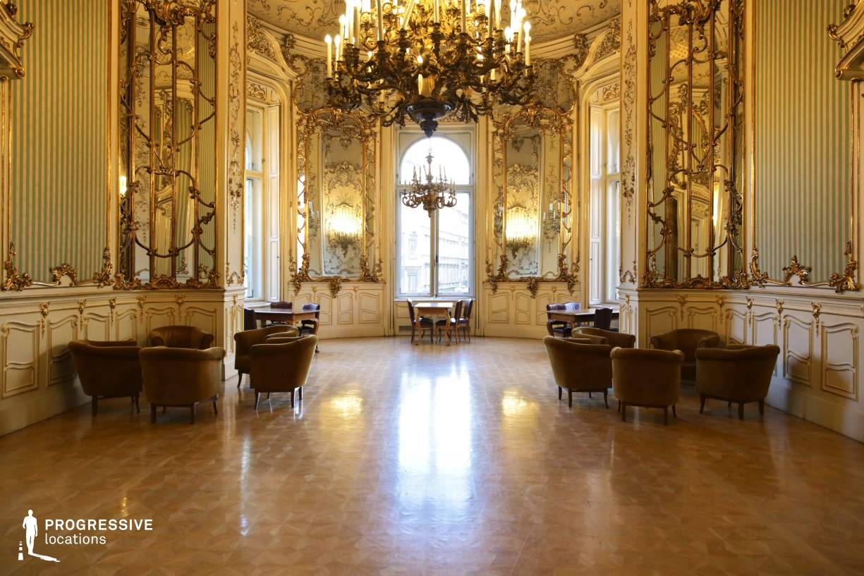 Locations in Hungary: Assembly Hall, Wenckheim Palace
