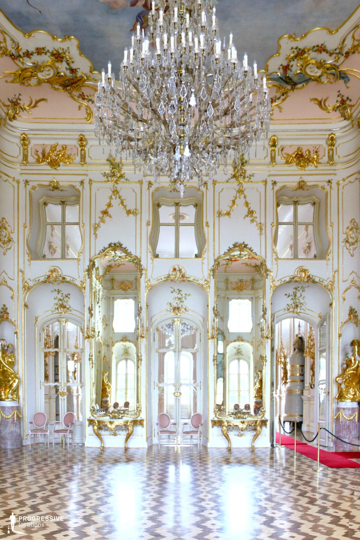 Locations in Hungary: Ballroom, Esterhazy Palace