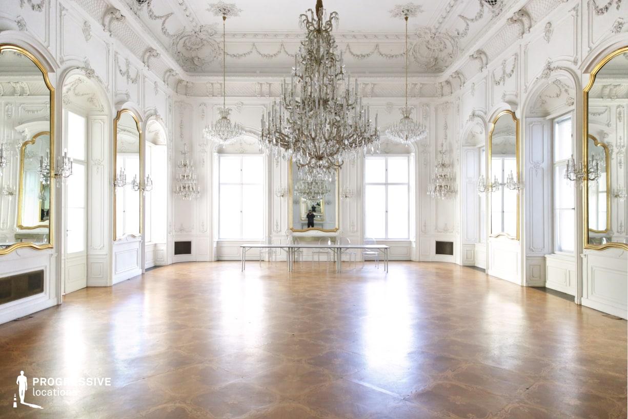Locations in Hungary: Mirror Hall, Festetics City Palace