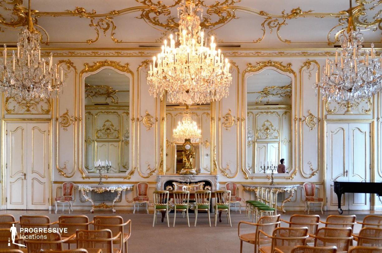 Locations in Hungary: Ballroom, Festetics Palace