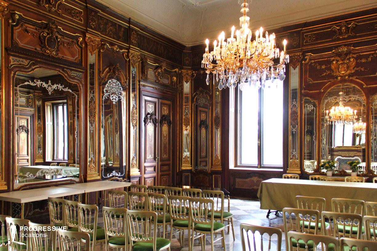 Locations in Hungary: Mirror Hall, Festetics Palace