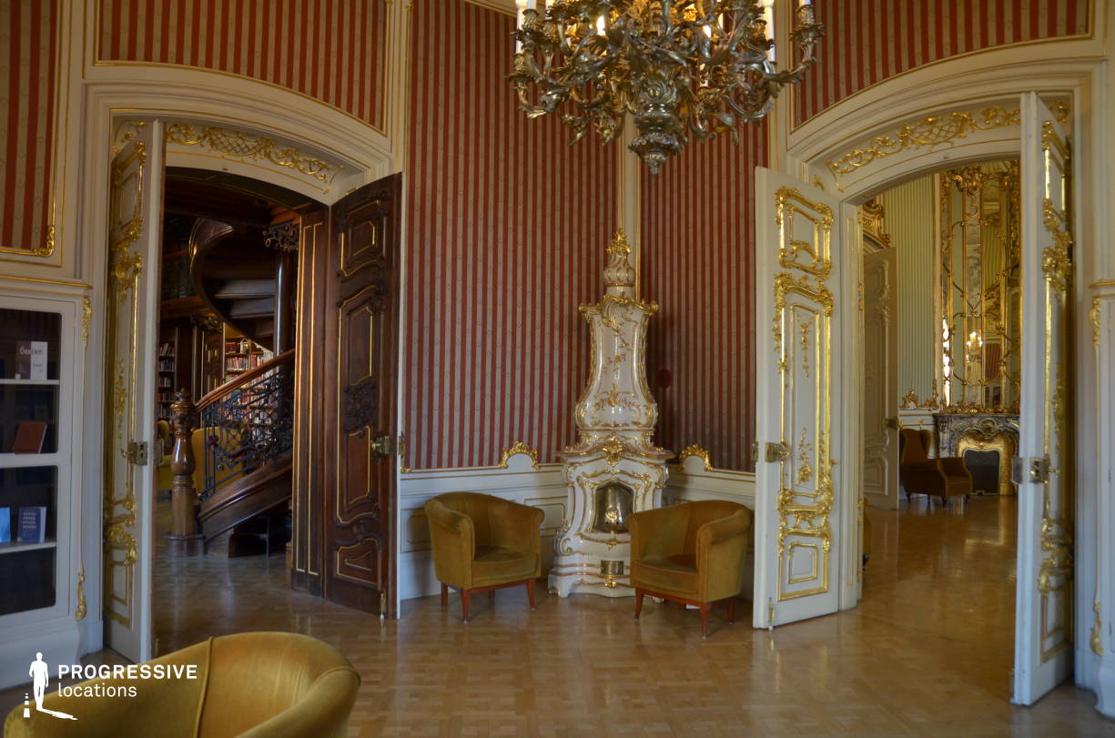 Locations in Hungary: Golden Salon, Wenckheim Palace