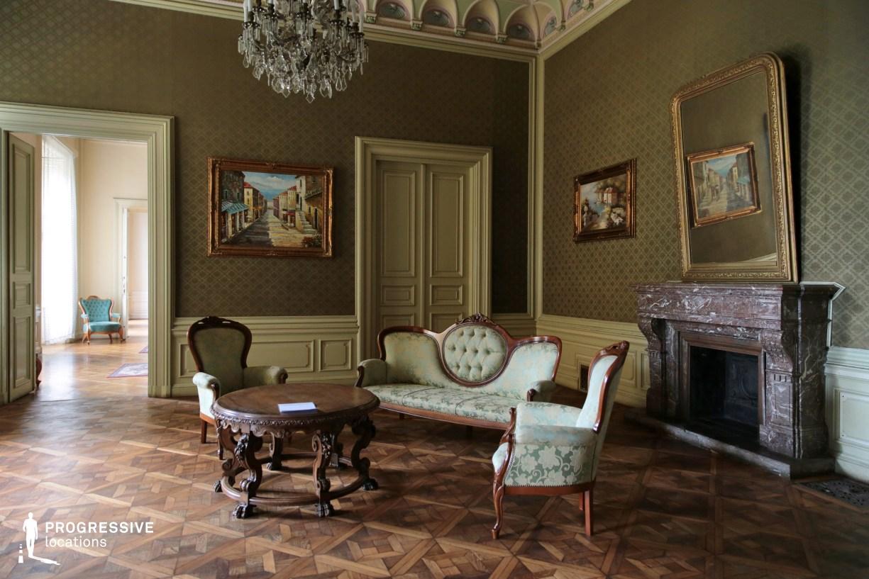 Locations in Hungary: Green Salon, Wenckheim Palace