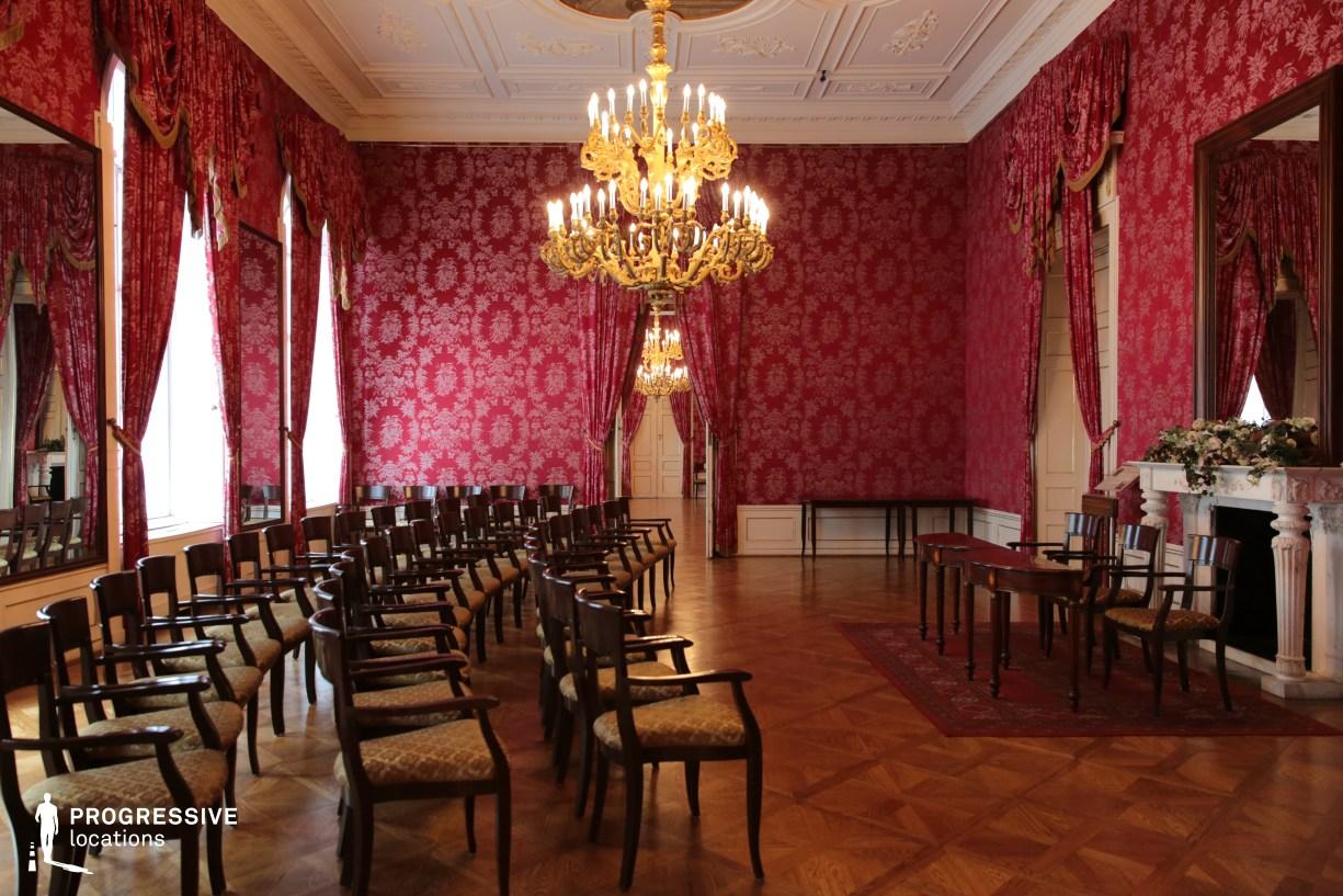 Locations in Hungary: Lotz Hall, Karolyi Palace