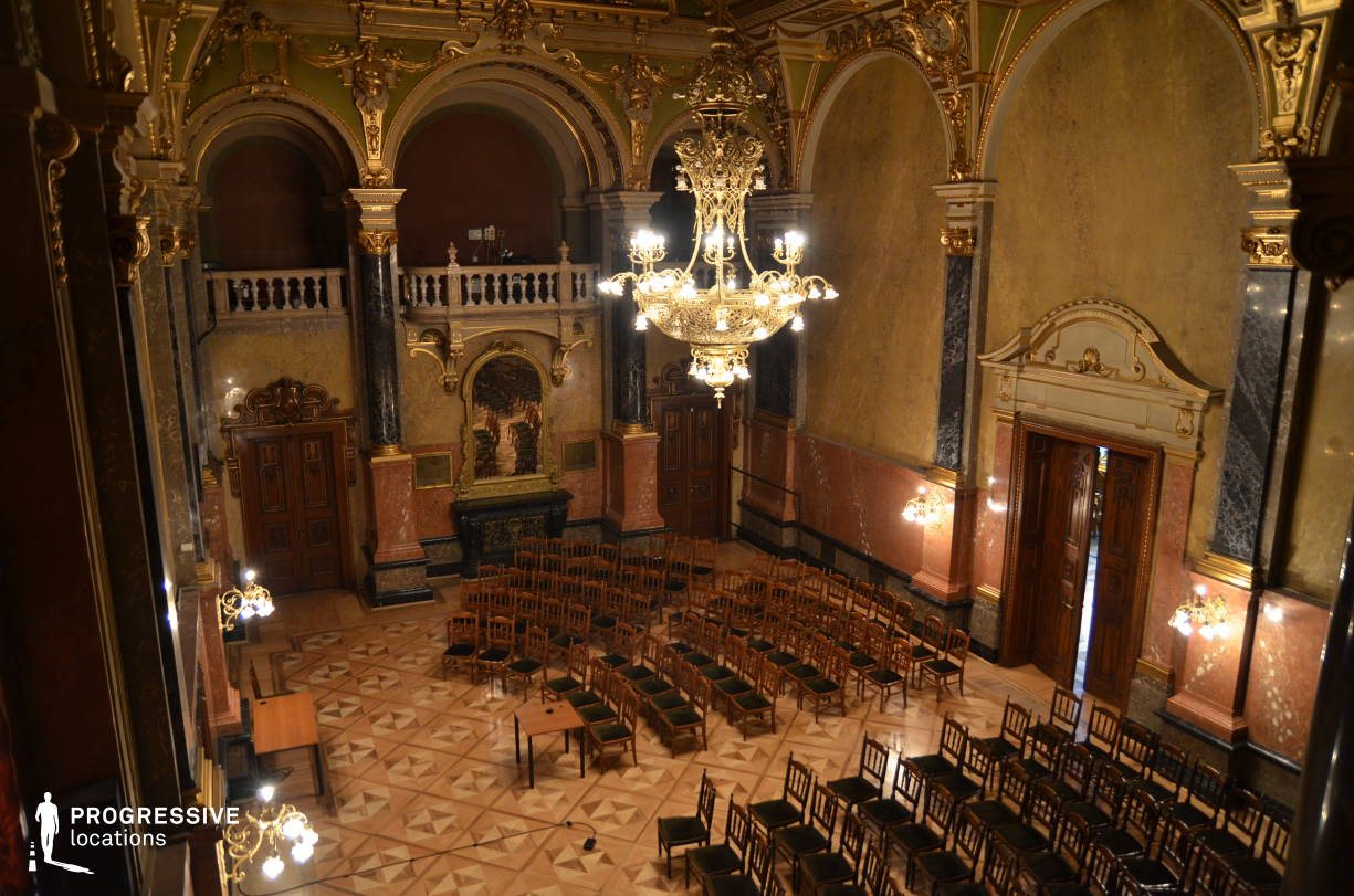 Locations in Hungary: Baroque Hall, Palace Of Justice